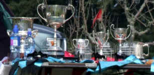Trophy table at NIBTC show, nice composition!